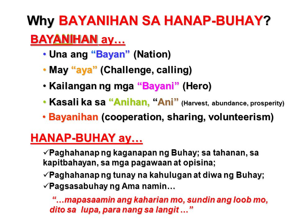 Table of Contents 1.W hy Bayanihan sa Hanap-Buhay (BHB)? 2.W hat is a BHB Community Kitchen-Mart? 3.W hat is Community Franchising System? 4.H ow to S