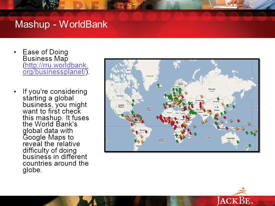 TM Mashup - WorldBank Ease of Doing Business Map (http://rru.worldbank.