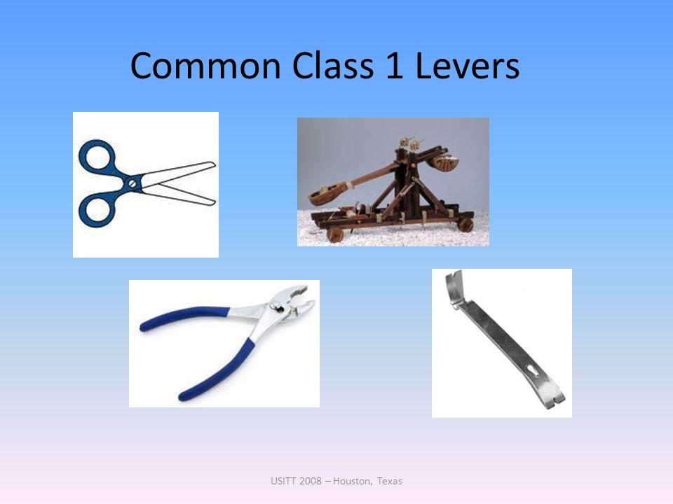 Common Class 1 Levers USITT 2008 – Houston, Texas