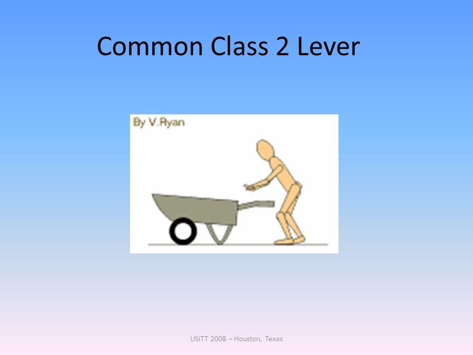 Common Class 2 Lever USITT 2008 – Houston, Texas