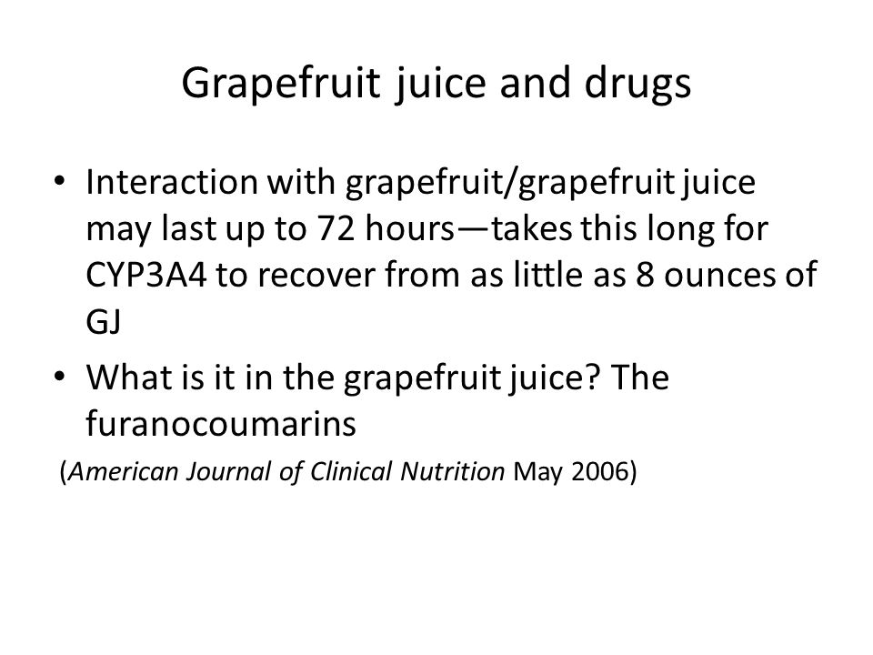 Cardiovascular drugs that may interact with grapefruit Very high riskdronedarone (Multaq)torsades de pointes; lovastatin (Mevacor) and simvastatin (700% increase in bioavailability) (Zocor)rhabdomyolysis (check CK if c/o severe muscle aches and pains) High riskamiodarone (Cordarone)-- torsades de pointes; atorvastatin/Lipitor – rhabdomyolysis; clopidogrel (Plavix)loss of efficacy increasing the risk of a blood clot following angioplasty/stenting; eplerenone (Inspra)high serum calcium levels, serious arrhythmias, ticagrelor (Brilinta)GI or kidney bleeding