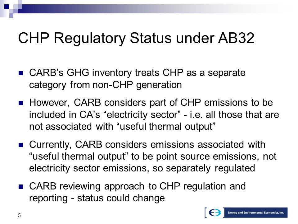 16 New CHP in Stage 2 Model Two categories of new CHP > 5 MW nameplate = Large CHP (cogen) < 5 MW nameplate = Small CHP (self-gen) Division at 5 MW based on SGIP criteria Characteristics of large CHP represented by 40 MW gas turbine Characteristics of small CHP represented by 3 MW gas reciprocating engine