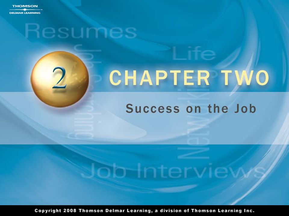 2 Chapter 1 Success as a Path