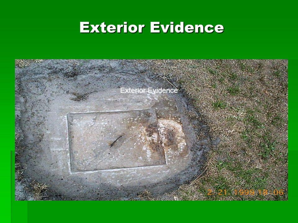 Exterior Evidence