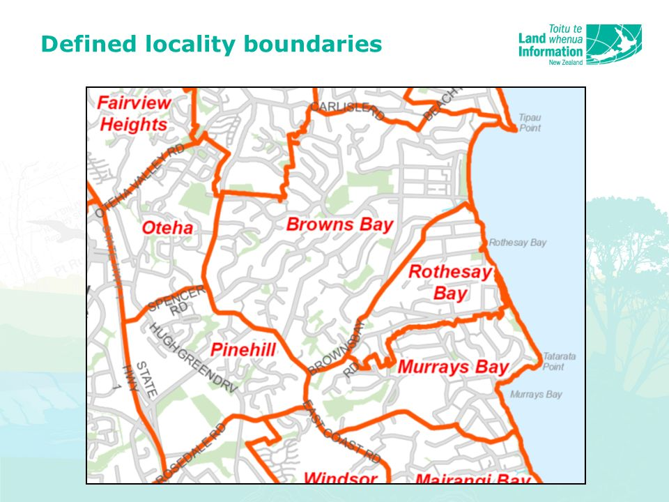 Defined locality boundaries