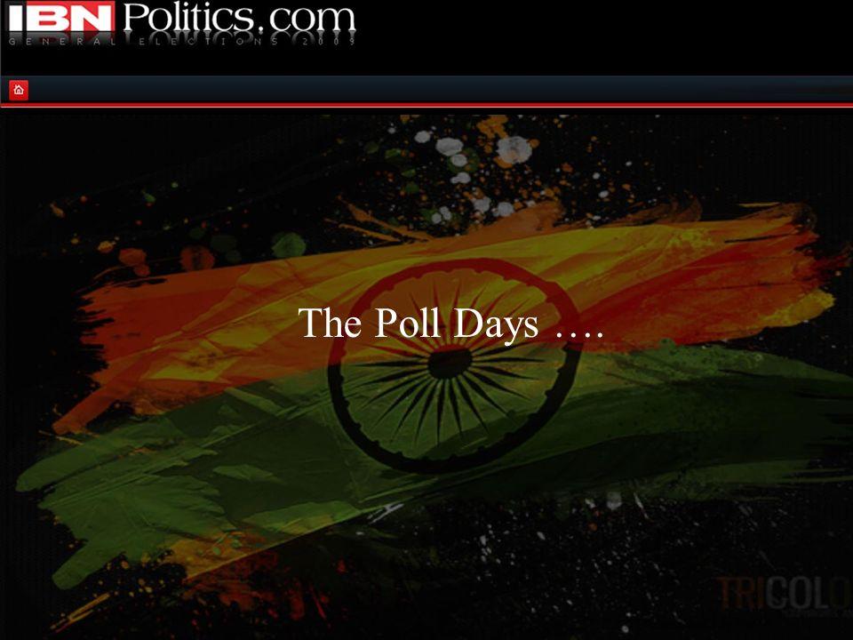 The Poll Days ….