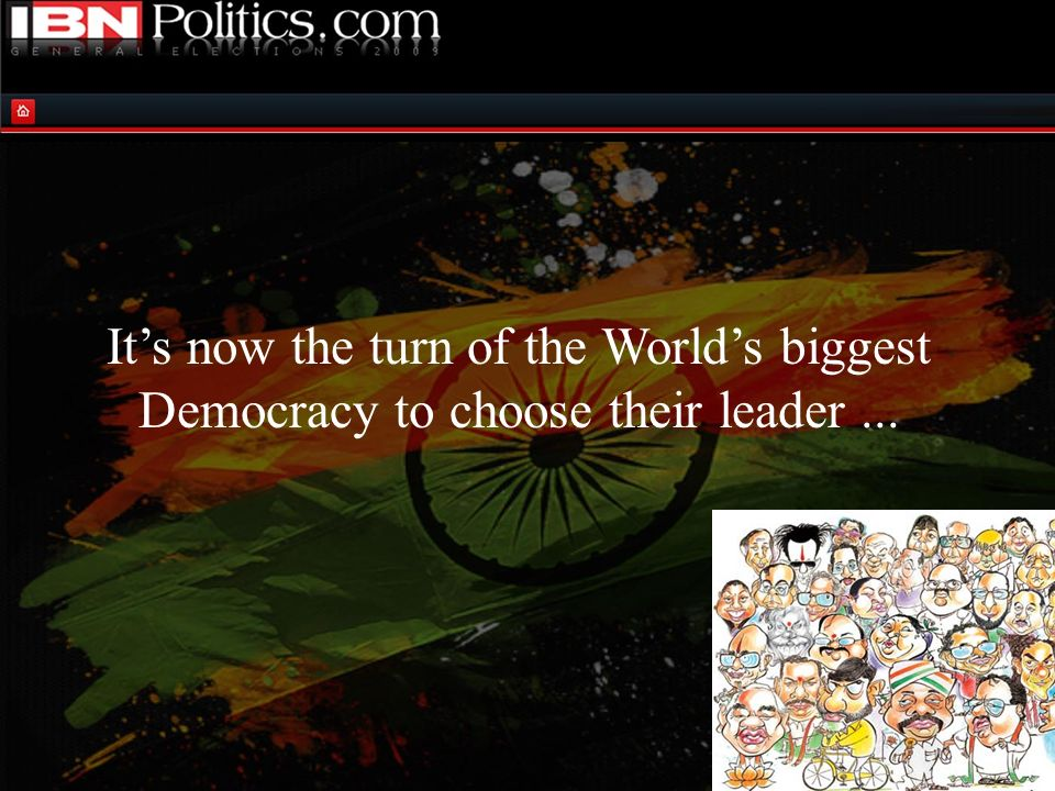 …a leader who will lead India to being the next SUPERPOWER