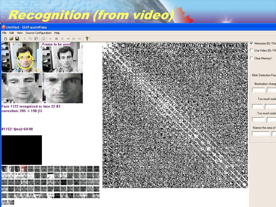 41. Facial Recognition in Video (Dr. Dmitry Gorodnichy) Recognition (from video)