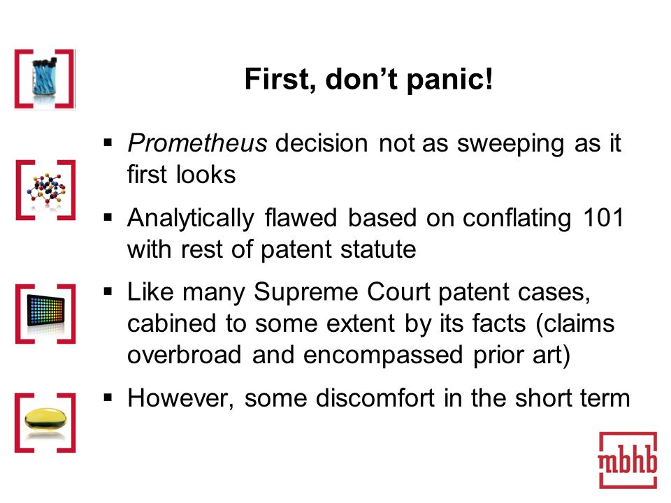 First, dont panic.