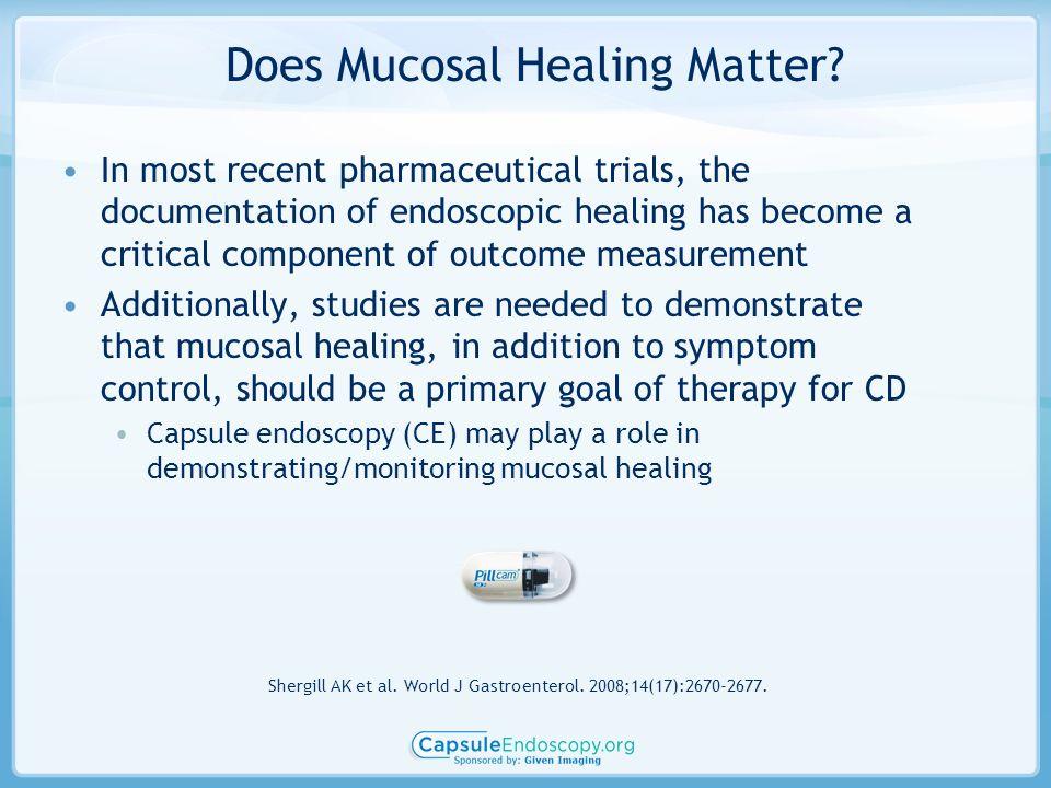Does Mucosal Healing Matter.