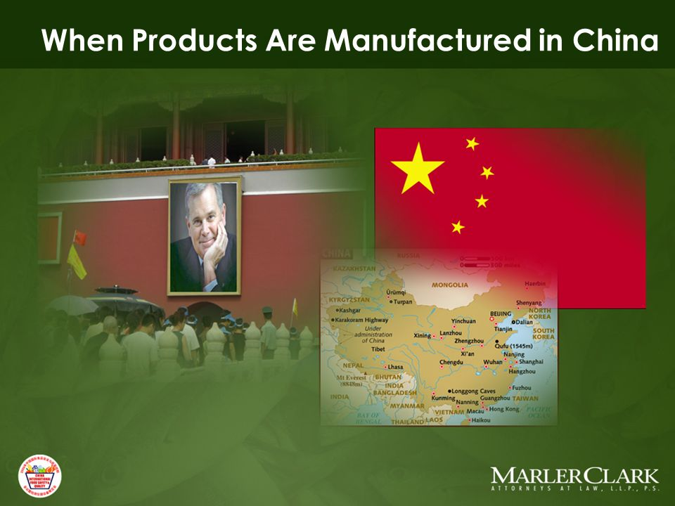 When Products Are Manufactured in China