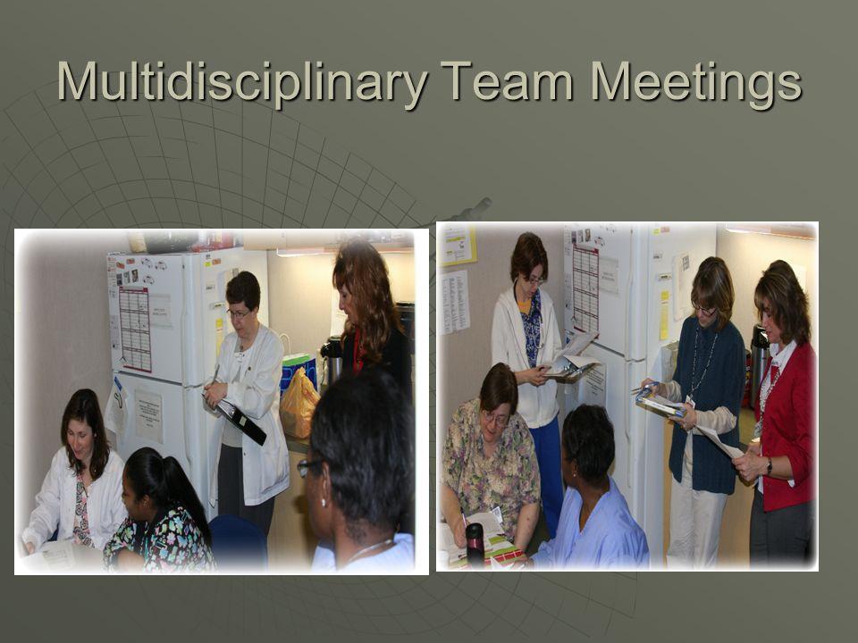 Multidisciplinary Team Meetings