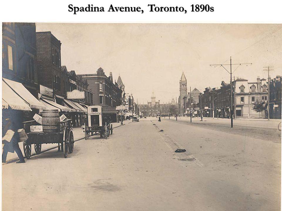 Spadina Avenue, Toronto, 1890s
