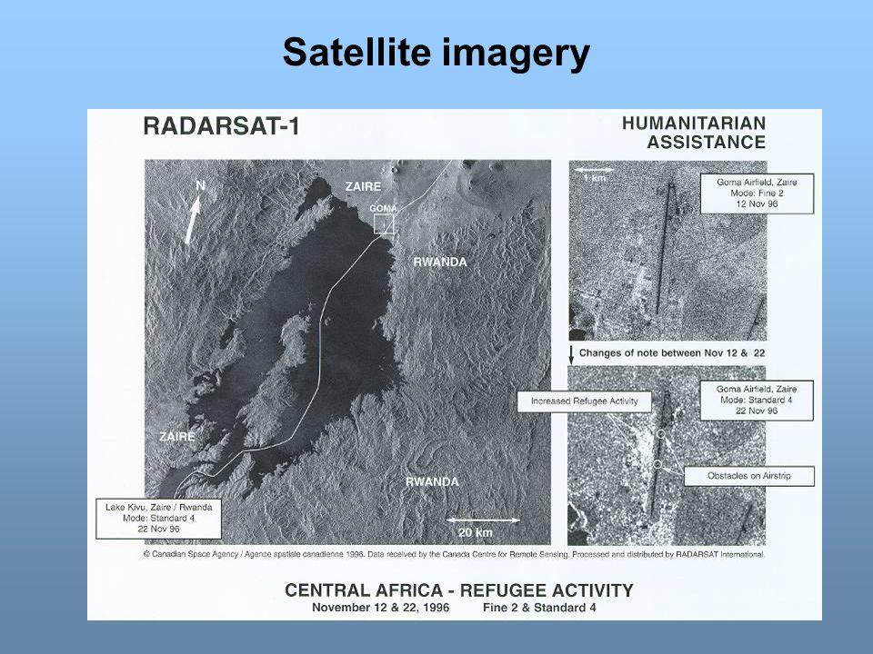 Satellite imagery