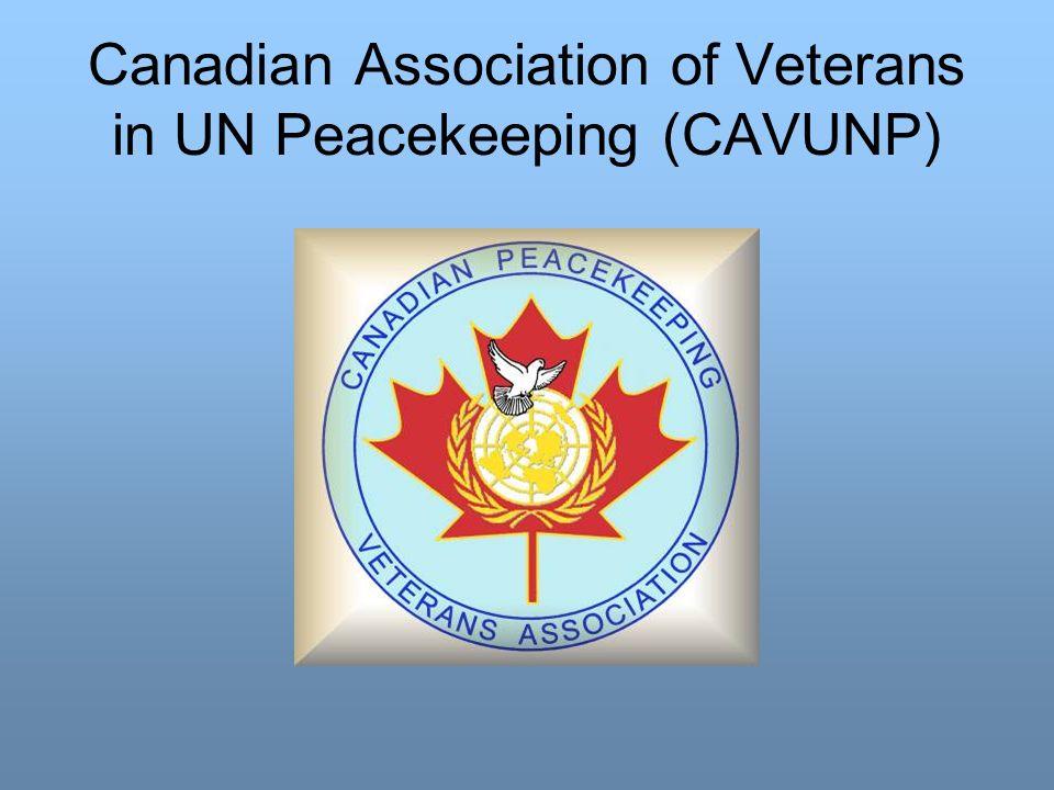 Canadian Association of Veterans in UN Peacekeeping (CAVUNP)