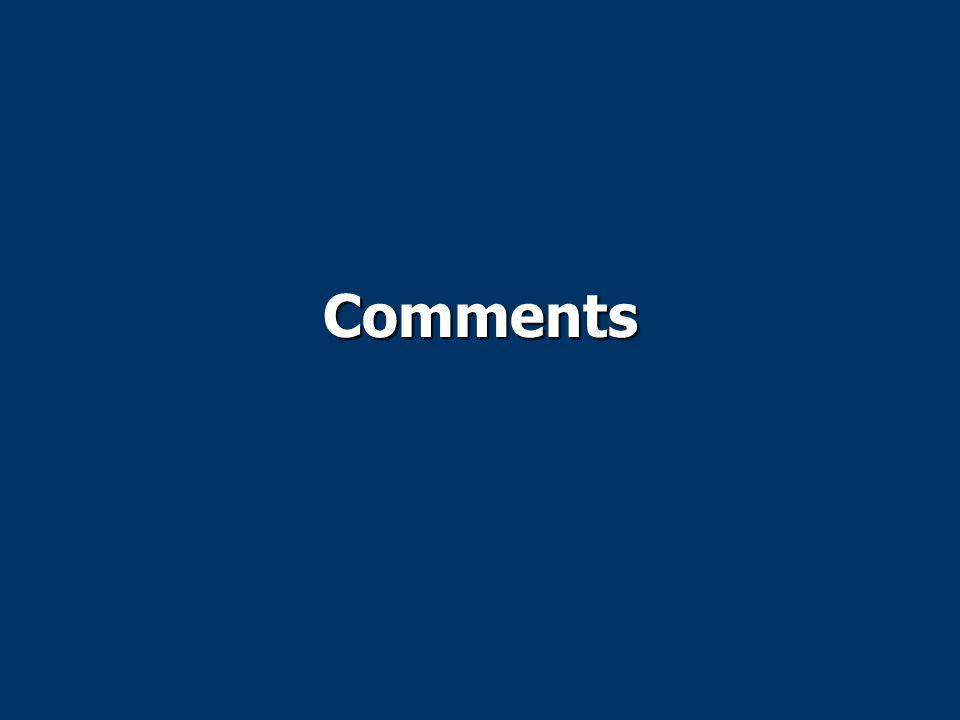 Comments