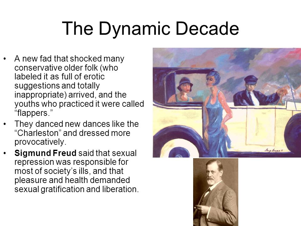 The Dynamic Decade A new fad that shocked many conservative older folk (who labeled it as full of erotic suggestions and totally inappropriate) arrive