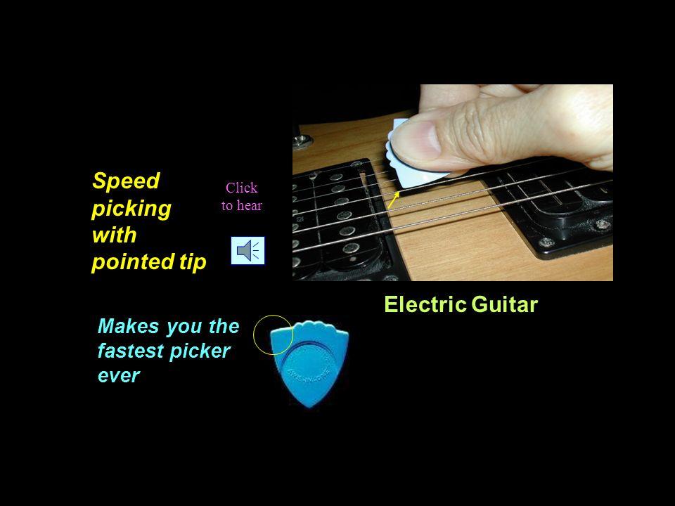 S S S S S SPEED S S S S SPEED Check out the pointed tip for lightning