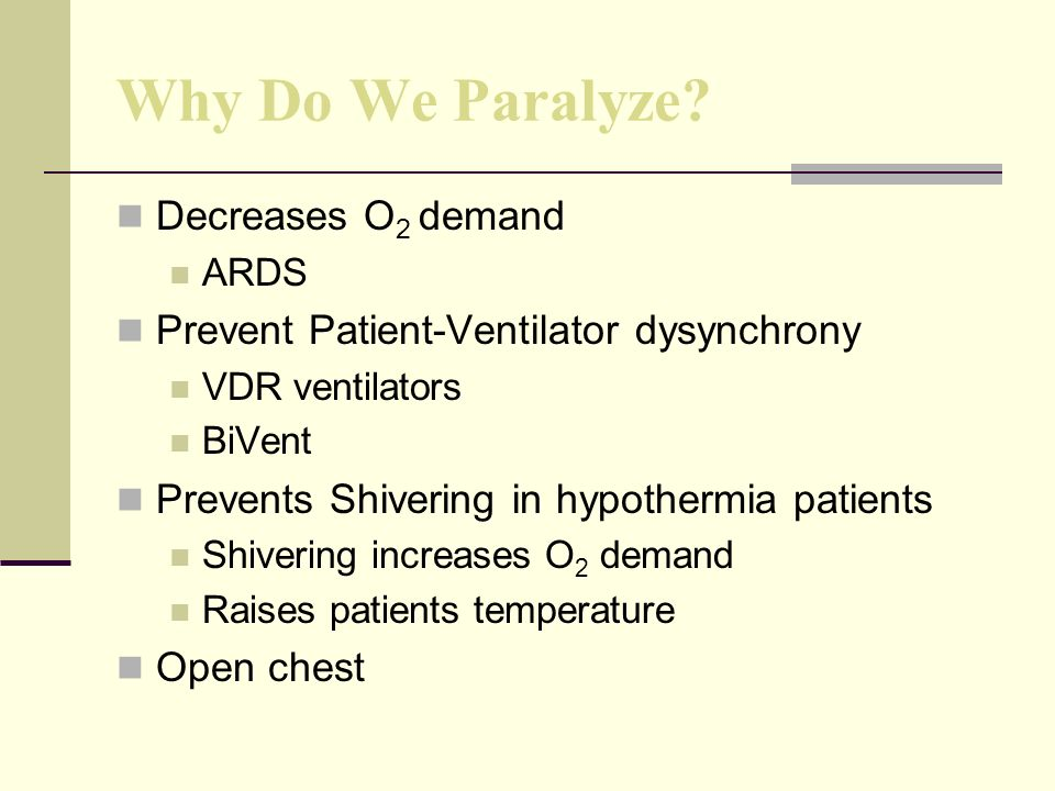 Why Do We Paralyze.