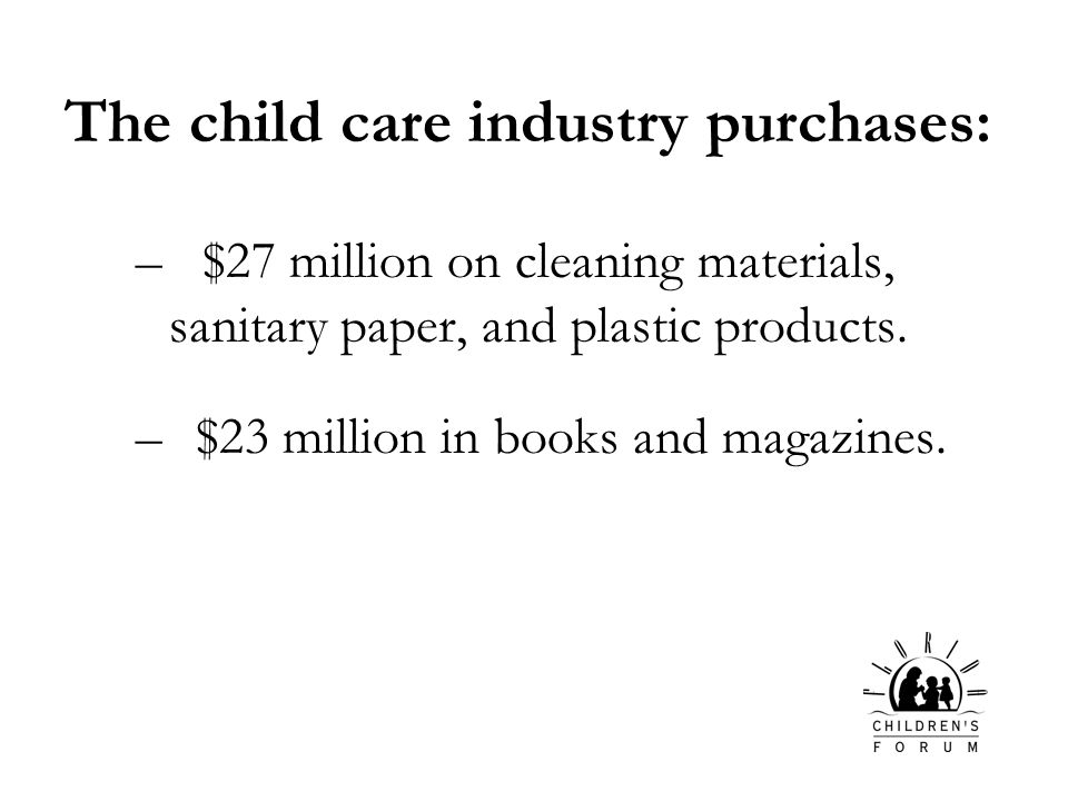 – $27 million on cleaning materials, sanitary paper, and plastic products.