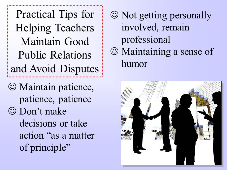 6.Avoid Being Witherish IDEA requires that teachers engage in good faith, reasonable efforts to implement the provisions of an IEP Doe v. Withers – A