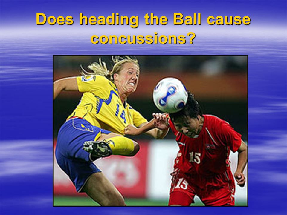 Does heading the Ball cause concussions?
