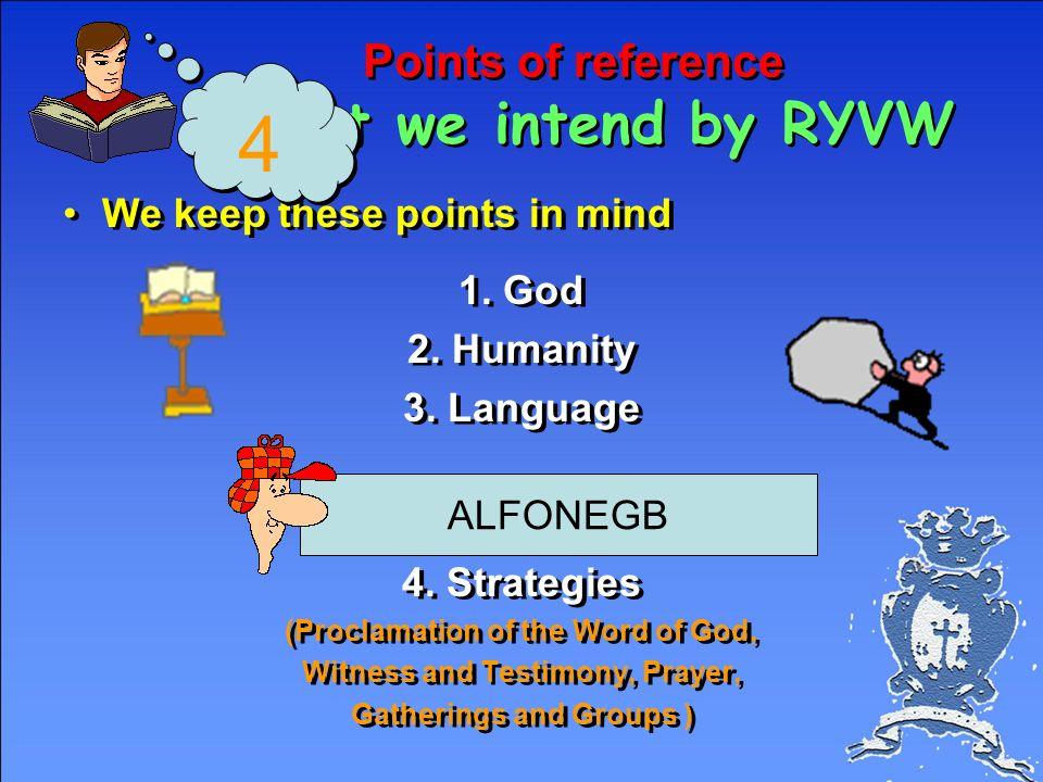 Methodology Redemptorist God Humanity Language