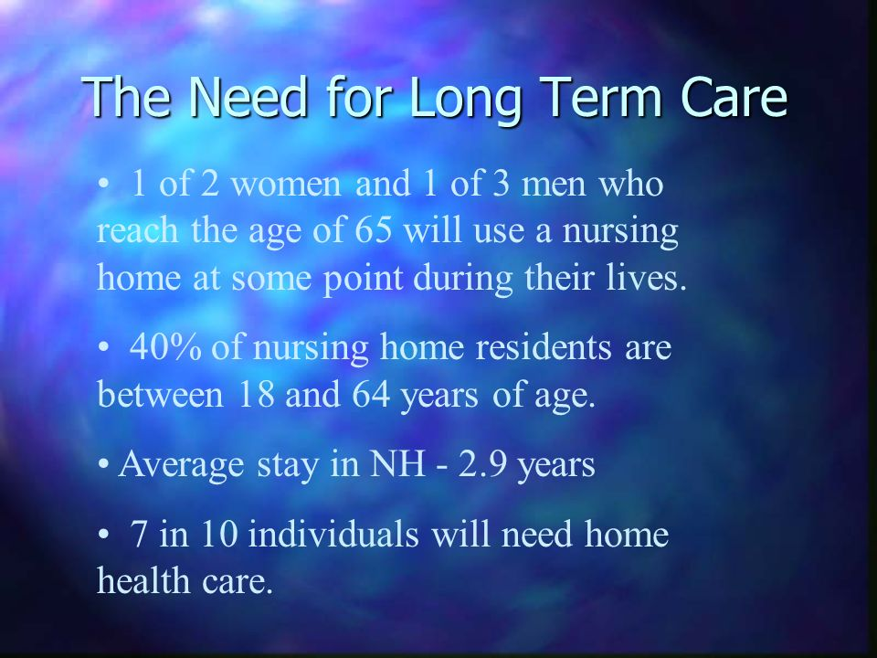 The Cost of Long Term Care Average cost of 24 hour Home Health Aides provided by an agency - $4,500 per month, or $54,000 per year.
