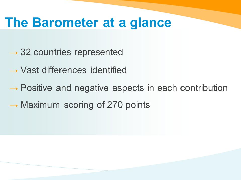 For further information, please visit: www.ms-id.org/barometer2008 Thank you for your attention.