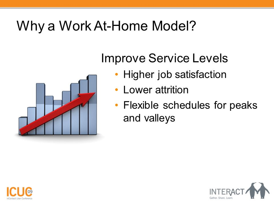 Why a Work At-Home Model.