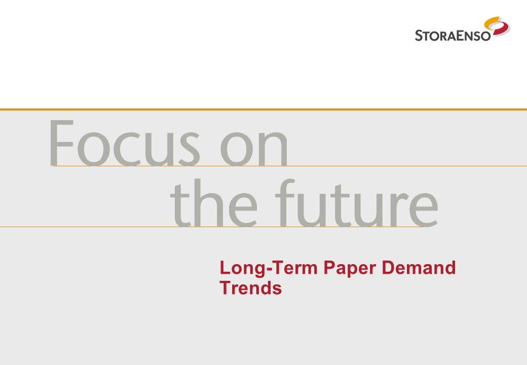 Long-Term Paper Demand Trends