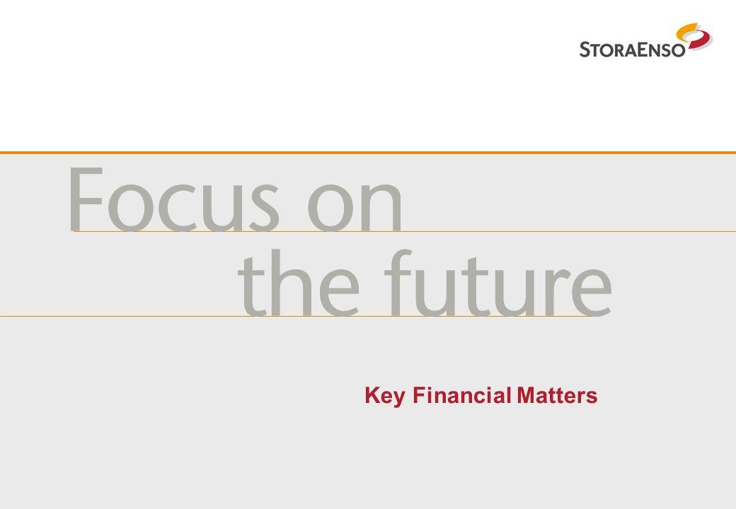 Key Financial Matters