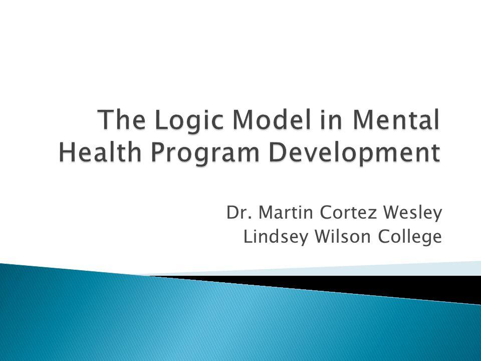 Dr. Martin Cortez Wesley Lindsey Wilson College