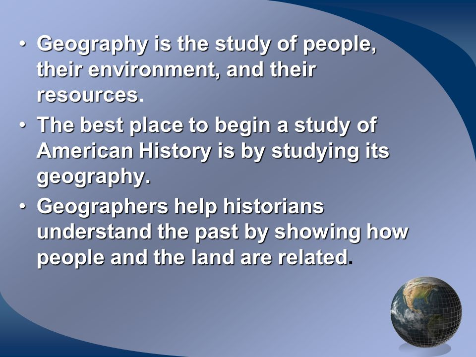Geography is the study of people, their environment, and their resourcesGeography is the study of people, their environment, and their resources. The