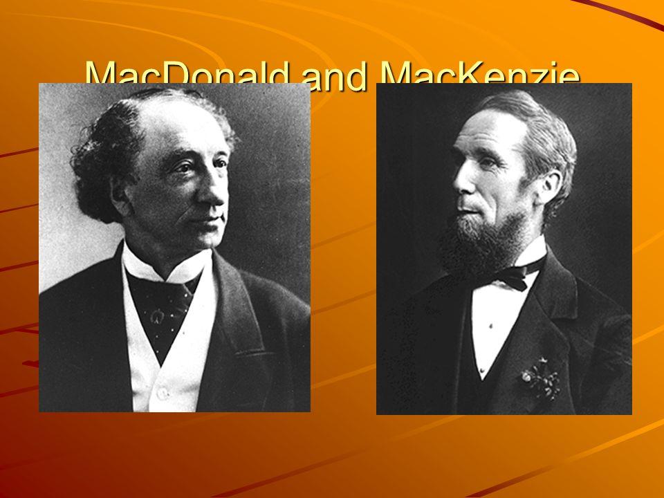 MacDonald and MacKenzie