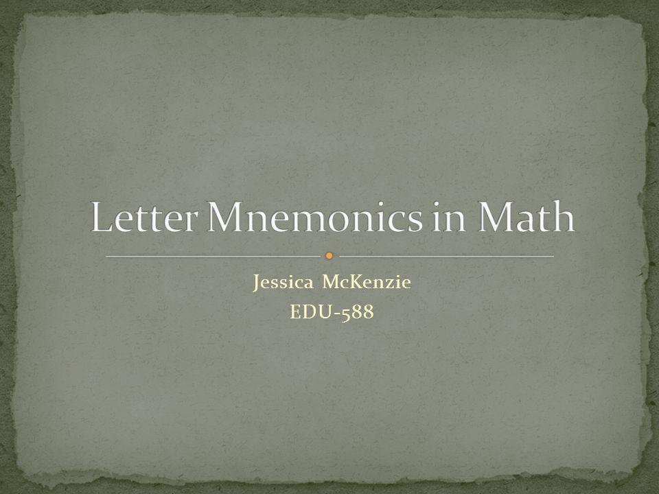 Jessica McKenzie EDU-588