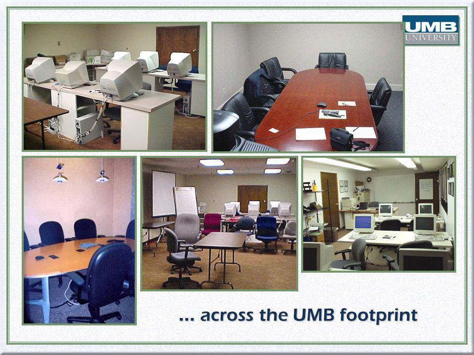 … across the UMB footprint