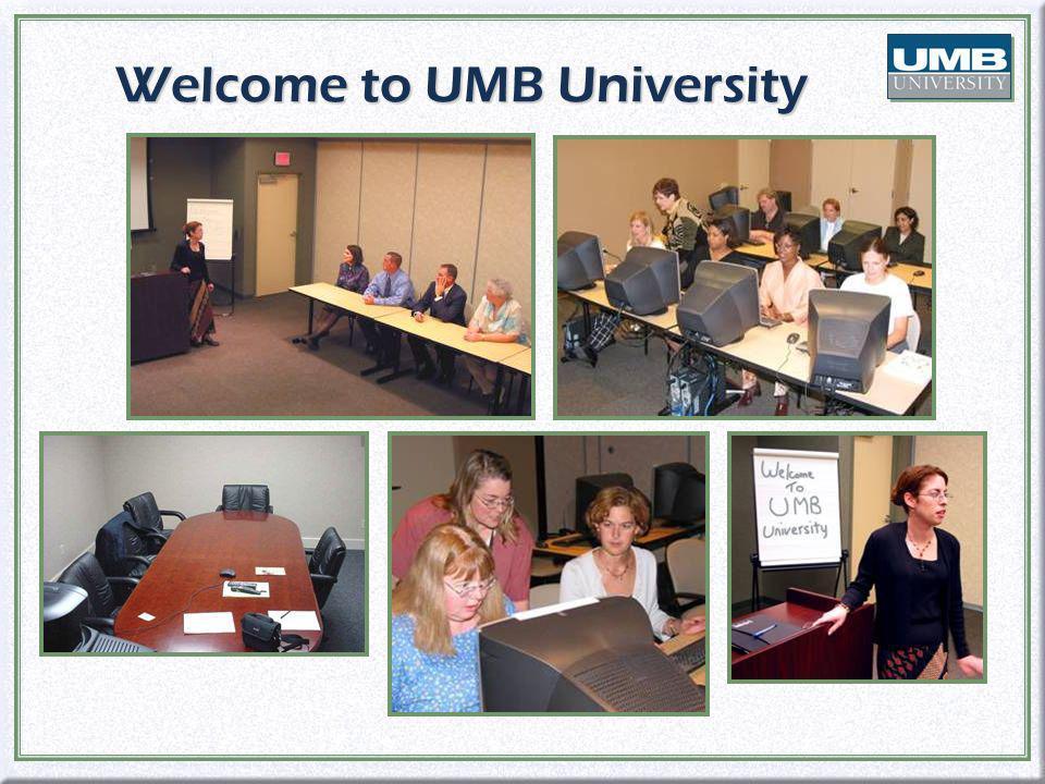 Welcome to UMB University