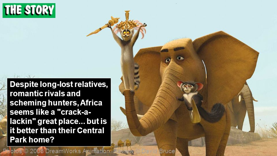Despite long-lost relatives, romantic rivals and scheming hunters, Africa seems like a crack-a- lackin great place...