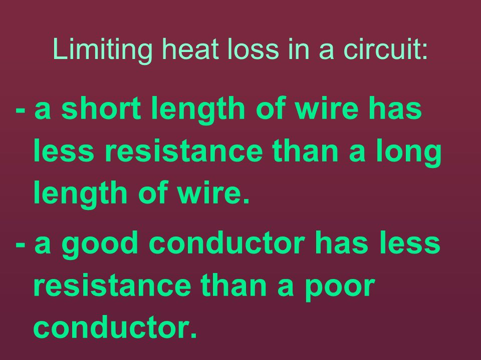 - electrical motors convert elec E to magnetic E to get kinetic E. Resistance can be an advantage if we wish to create heat (as in a toaster) or it ca