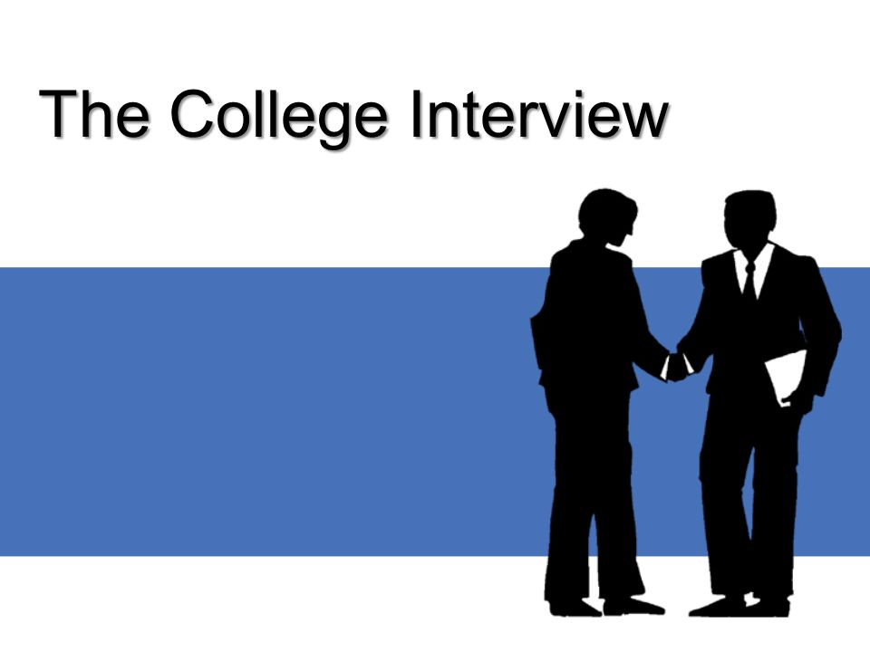 Why Try to Interview.