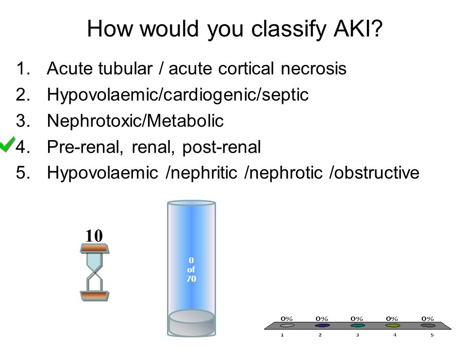 How would you classify AKI.
