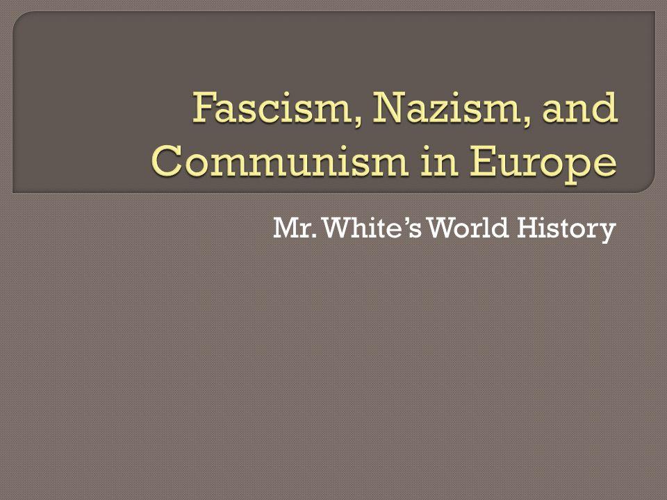 Mr. Whites World History