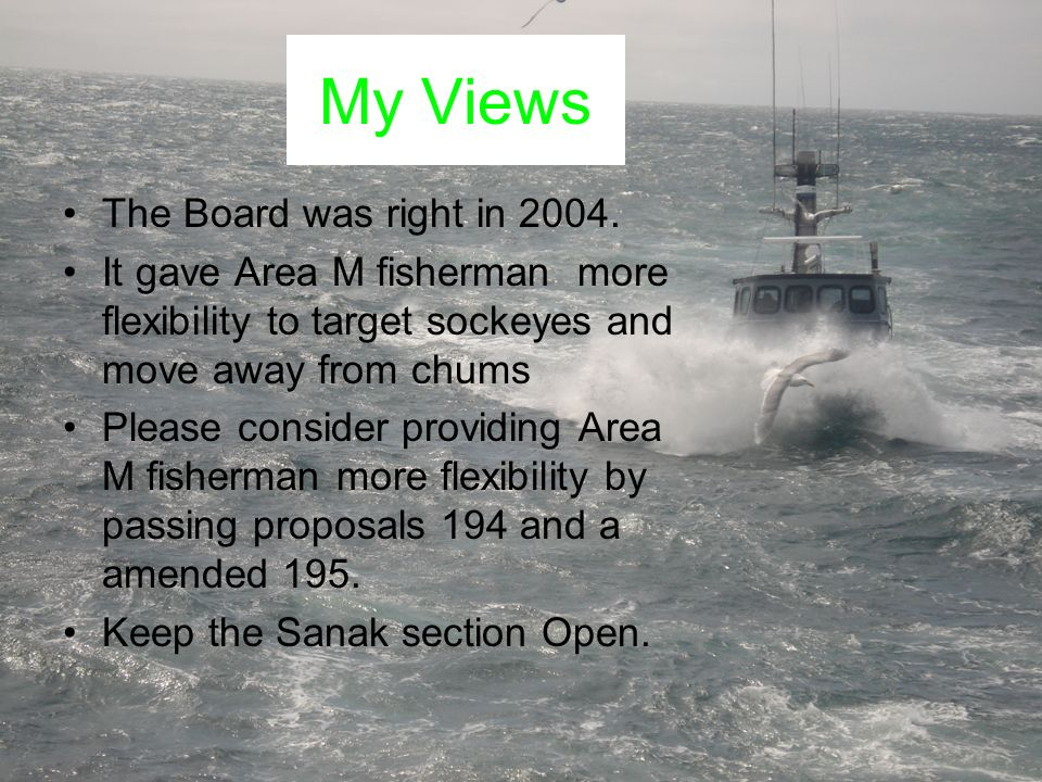 My Views The Board was right in 2004.