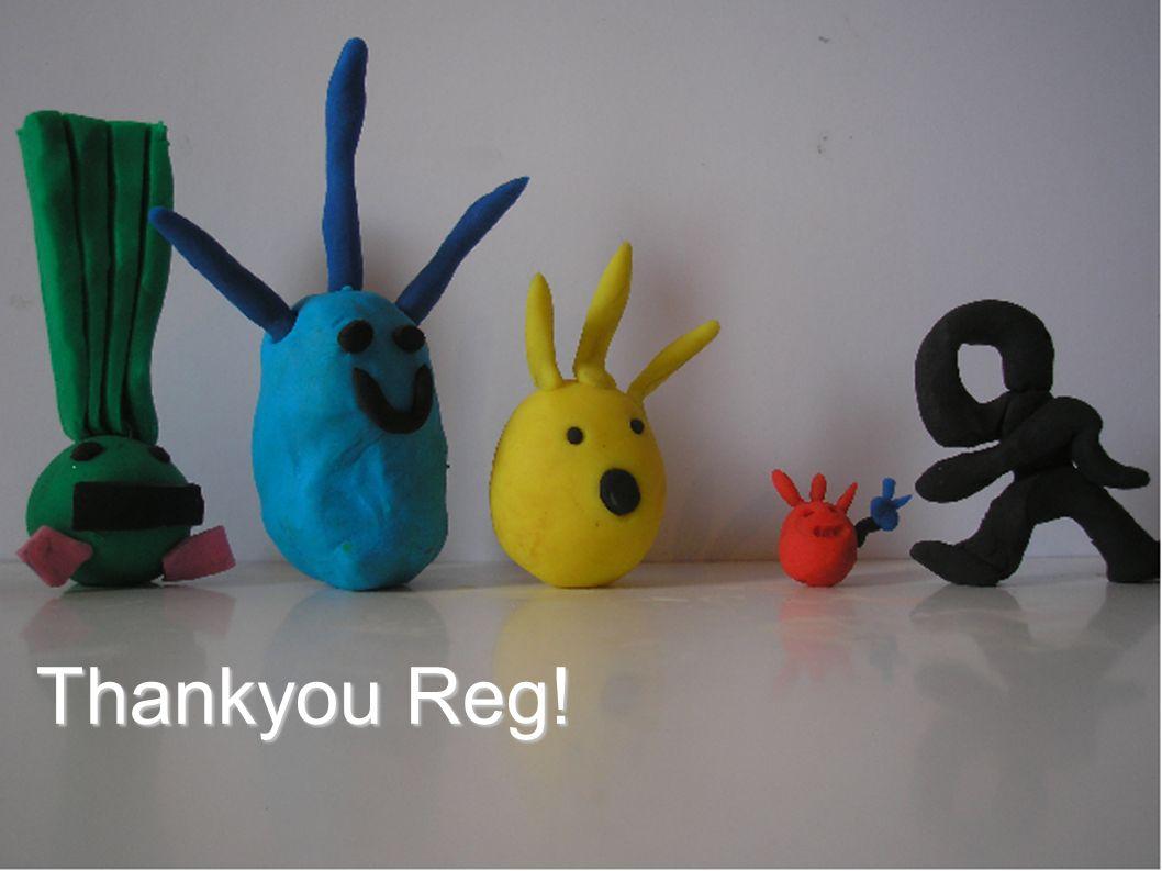 Thankyou Reg!