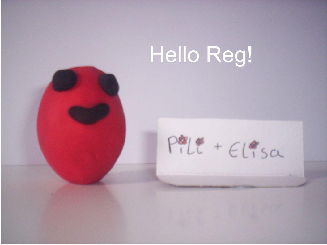 Hello Reg!