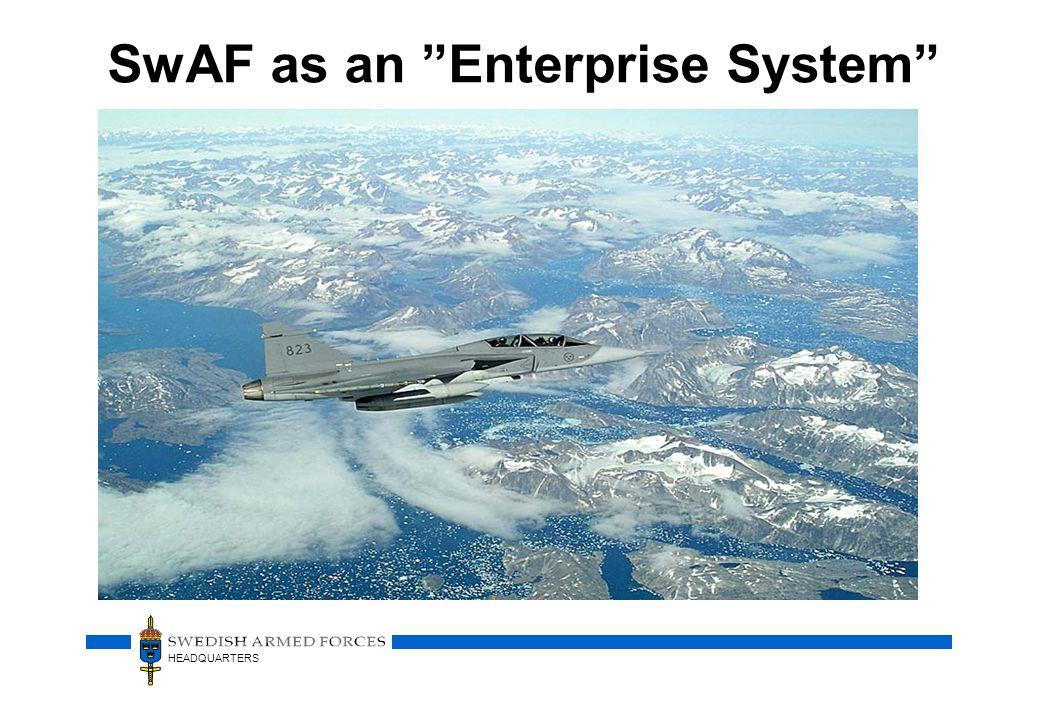 HEADQUARTERS SwAF as an Enterprise System