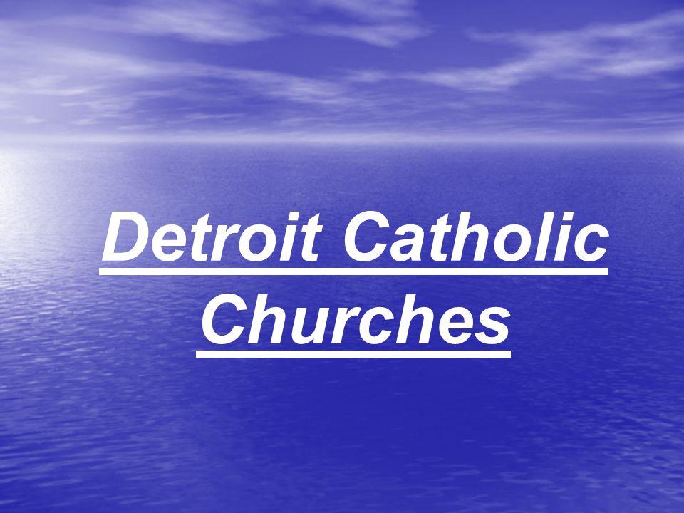 Detroit Catholic Churches