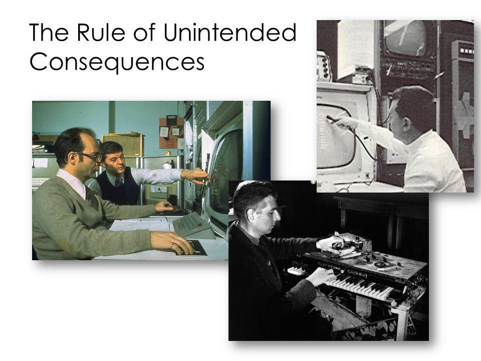 The Rule of Unintended Consequences