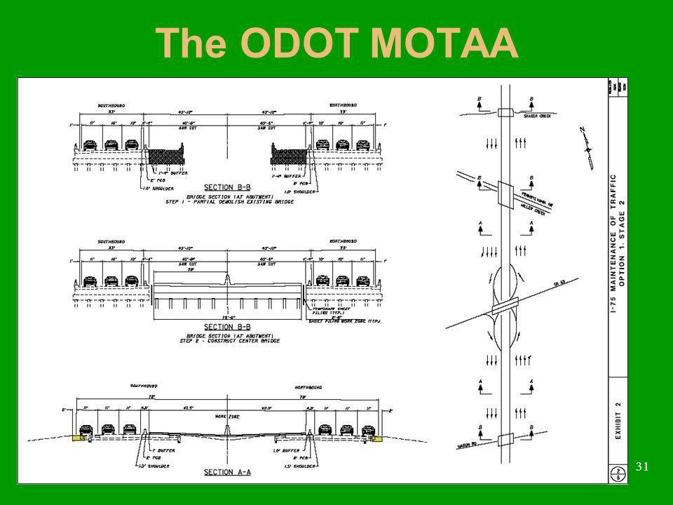31 The ODOT MOTAA